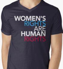 Les droits de la femme sont des droits de l'homme T-shirt col V homme