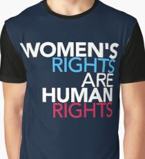 Womens Rights are Human Rights Graphic T-Shirt