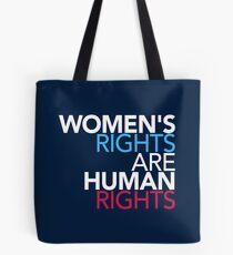 Bolsa de tela Los derechos de las mujeres son derechos humanos