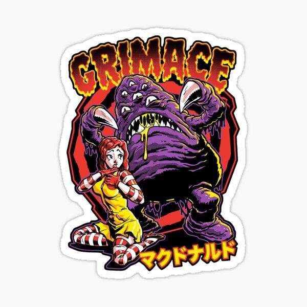 GRIMACE Sticker