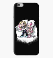 SpiderGwen and Gwenpool Selfie iPhone Case