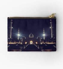 Zayed Grand Mosque Entrance Studio Pouch