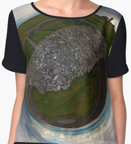 Dun Eochla, Inishmore, Aran Islands Women's Chiffon Top
