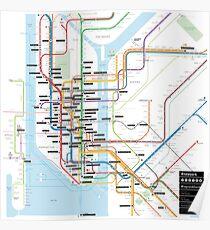 #tagsandthecity / New York Poster
