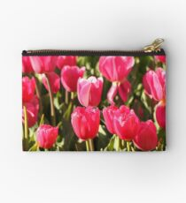 Red Tulips Studio Pouch