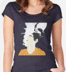 Smoking  Women's Fitted Scoop T-Shirt