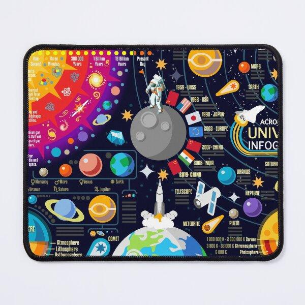 Infographie de l'univers spatial Big Bang Tapis de souris