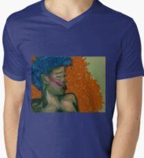 Breath of Dusk Mens V-Neck T-Shirt