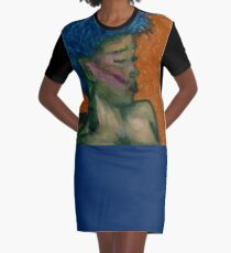 Breath of Dusk Graphic T-Shirt Dress