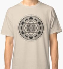 SACRED GEOMETRY - METATRONS CUBE - FLOWER OF LIFE - SPIRITUALITY - YOGA - MEDITATION Classic T-Shirt