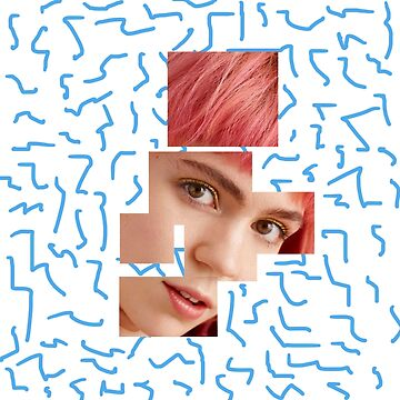 Fragmented Grimes by WeeknightCrisis