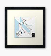 #tagsandthecity / San Francisco Framed Print