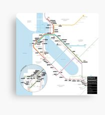 #tagsandthecity / San Francisco Canvas Print