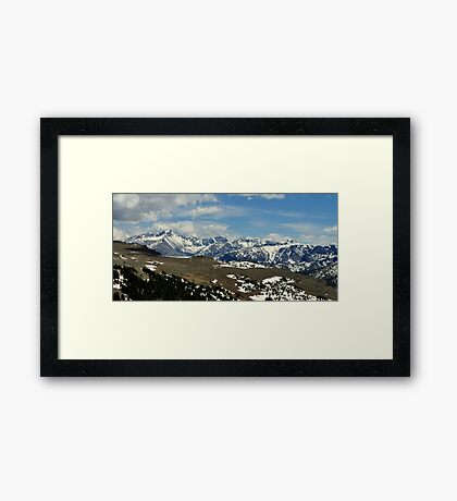 Roof of the National Parks Framed Print