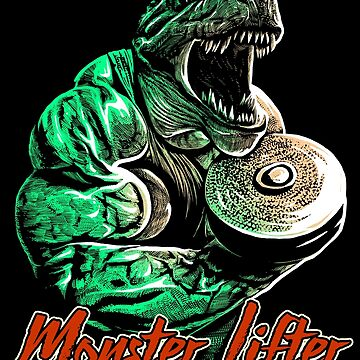 Only for the hardcore heavy bodybuilder - Monster Lifter by rahmenlos
