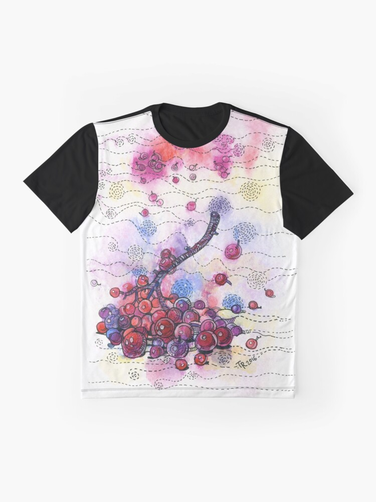 Alternate view of Winter Rowan Berries Graphic T-Shirt