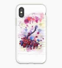 Winter Rowan Berries iPhone Case