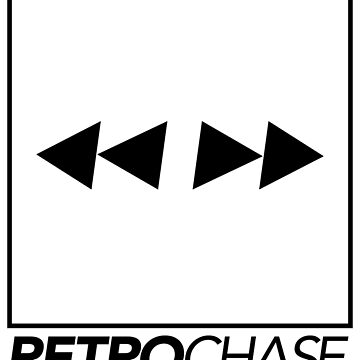RetroChase - White Logo by Kornelius