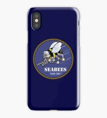 US NAVY SEABEES CAN DO! Mascot iPhone Case/Skin