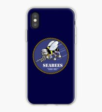 US NAVY SEABEES CAN DO! Mascot iPhone Case