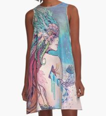 The Last Mermaid A-Line Dress