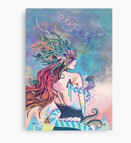 The Last Mermaid Canvas Print