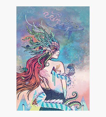 The Last Mermaid Photographic Print