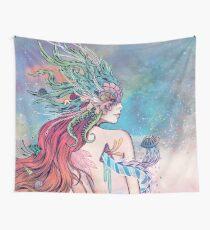 The Last Mermaid Wall Tapestry