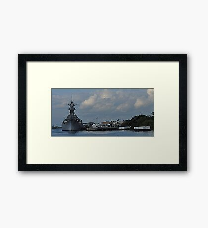The Mighty Mo Framed Print