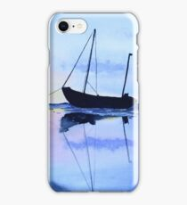 Single Boat Seascape iPhone Case/Skin