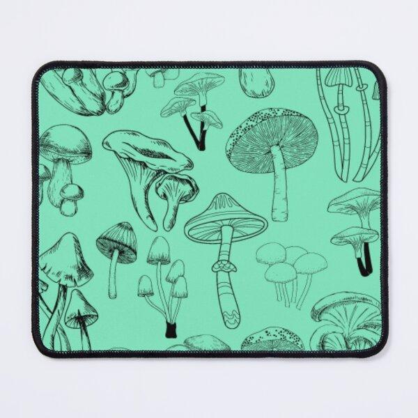 Mushroom Fungi Pattern Mouse Pad