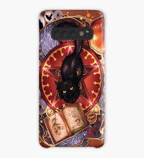 Black Cat Magic Case/Skin for Samsung Galaxy