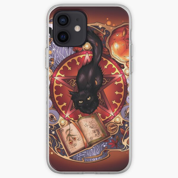 Black Cat Magic iPhone Soft Case