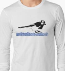 Blue Jay - Critter Love Collection 2 of 6 Long Sleeve T-Shirt