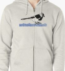 Blue Jay - Critter Love Collection 2 of 6 Zipped Hoodie