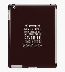 Favorite Engineers iPad Case/Skin