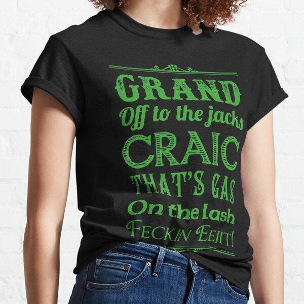 Irish Slang - Green T-shirt classique