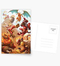 Fire Blast Postcards