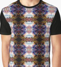 Psychedelic Girl Dance Party Abstract Graphic T-Shirt