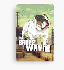 Bulldoggin GTA Canvas Print