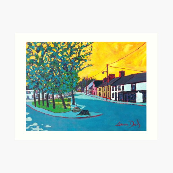 Castlebellingham (County Louth , Ireland) Art Print