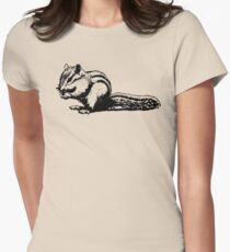 Chipmunk - Critter Love Collection 4 of 6 Women's Fitted T-Shirt