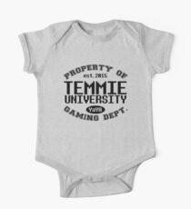 Property Of Temmie University One Piece - Short Sleeve