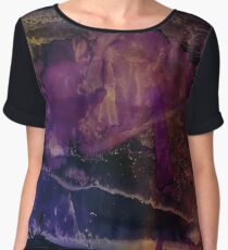 Rossby | Alcohol Ink Abstract Chiffon Top