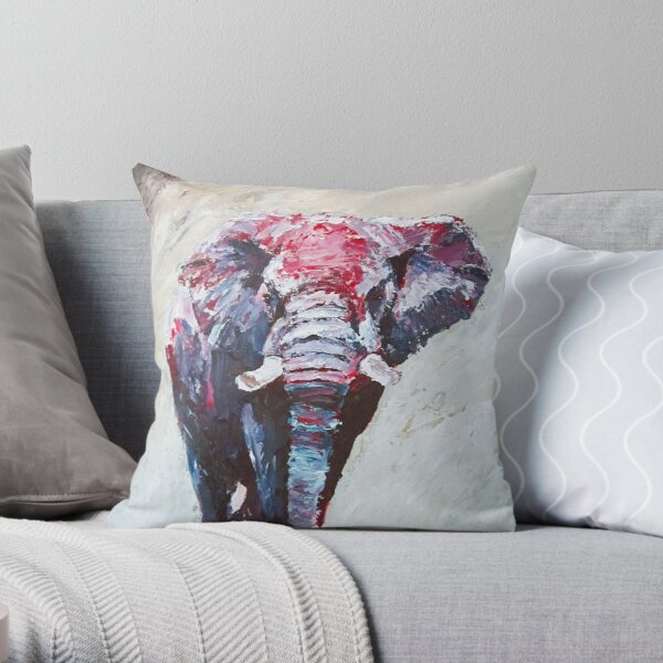 Crimson Shine by Thomas Andrew Throw Pillow