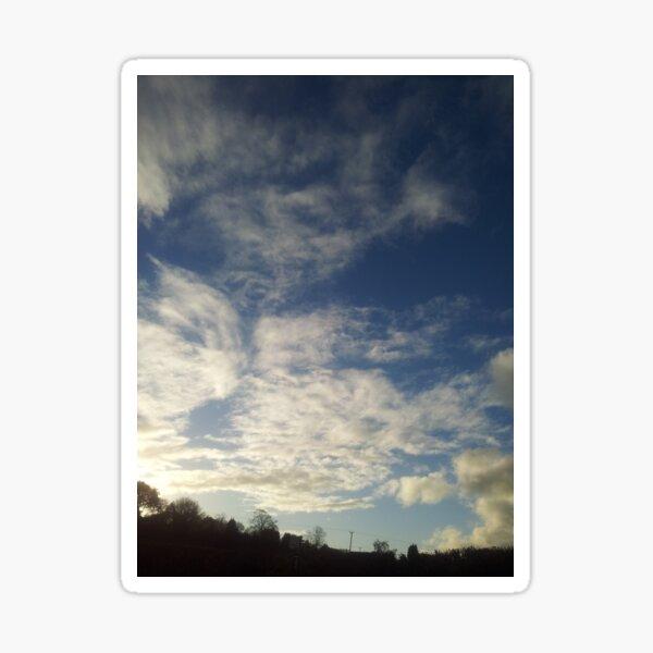 Nuneaton Clouds 17.11.2016 two Sticker