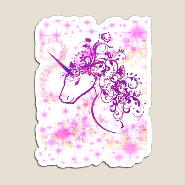 Sparkle Unicorn 2 Magnet