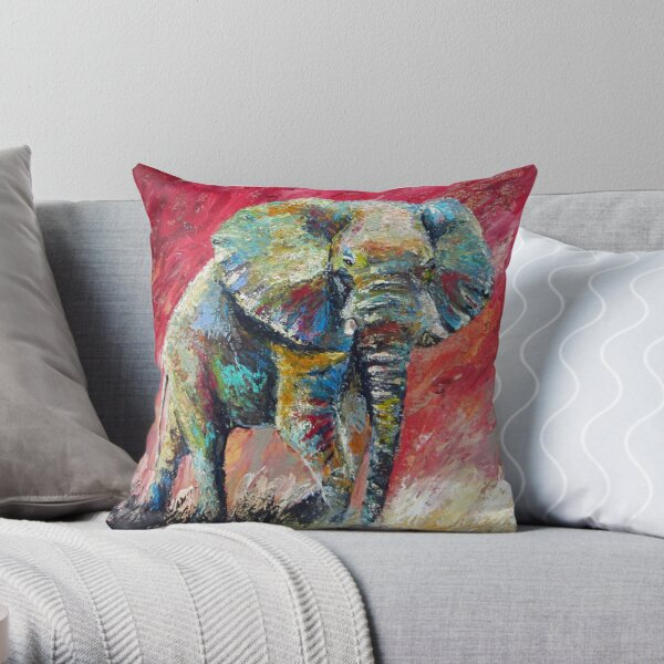 Ready for Battle by Thomas Andrew Throw Pillow