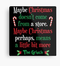 Maybe Christmas Metal Print