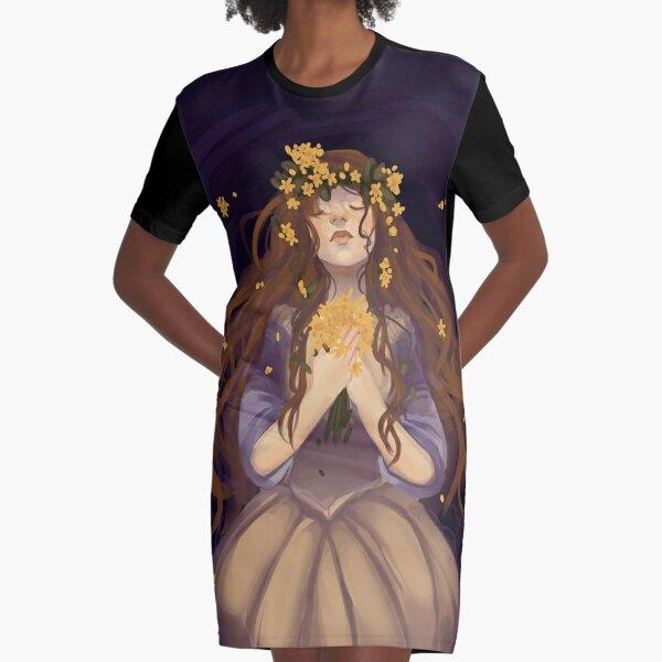 Ophelia Graphic T-Shirt Dress